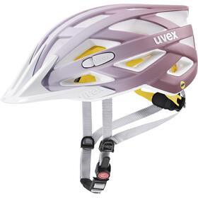 UVEX I-VO CC MIPS Casco, white/rose matt